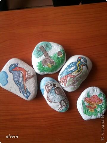 роспись камней фото 3