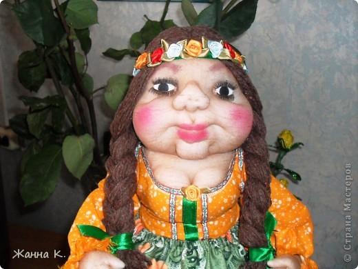 Очередная кукла на чайник фото 2