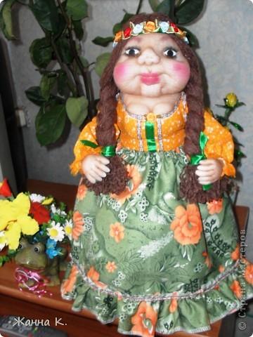 Очередная кукла на чайник фото 1