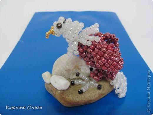 Плетение - Миниатюрные зверики и композиции из бисера.