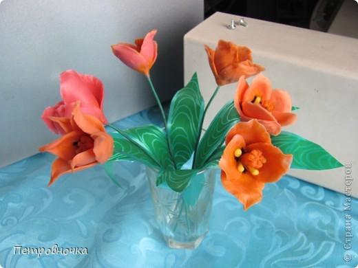 Почти месяц лепила новые для меня цветы из самоварного фарфора, но результатом не довольна и даже уже две недели не варю фарфор. фото 6