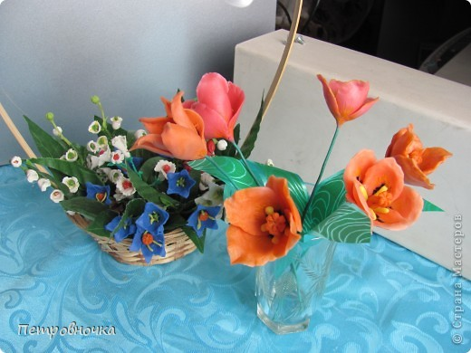 Почти месяц лепила новые для меня цветы из самоварного фарфора, но результатом не довольна и даже уже две недели не варю фарфор. фото 7