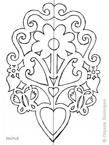 Украшение Вырезание Весеннее украшение интерьера + шаблоны Бумага фото 15.