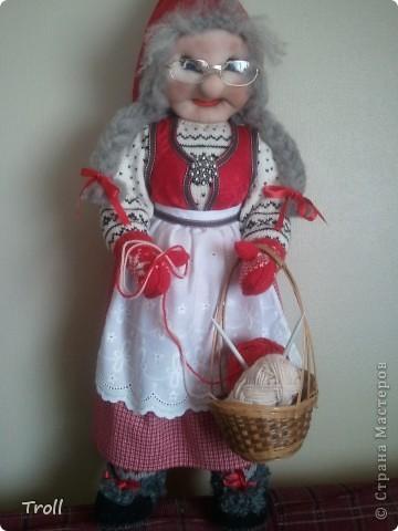 Дружная семеика норвежских рождественнских персонажей(Julenisser) фото 4