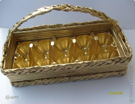 Плетение - Корзиночка для пасхальных яиц.