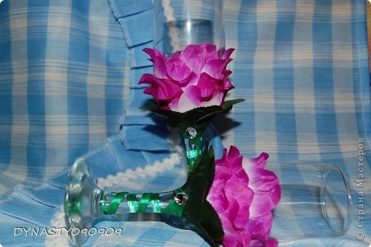 Бокал-цветок фото 4