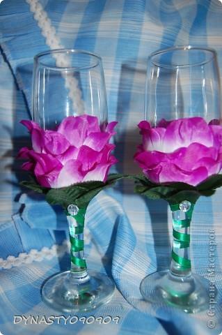 Бокал-цветок фото 7
