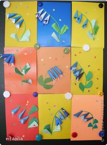 Эта сирень сделана в технике мозаики из бумажных комочков на уроке технологии в 1 классе. За урок уложились. Результат порадовал :))) фото 6