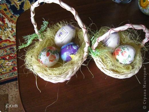 Вот такой набор из деревянных яиц и салфеток у меня получился фото 9