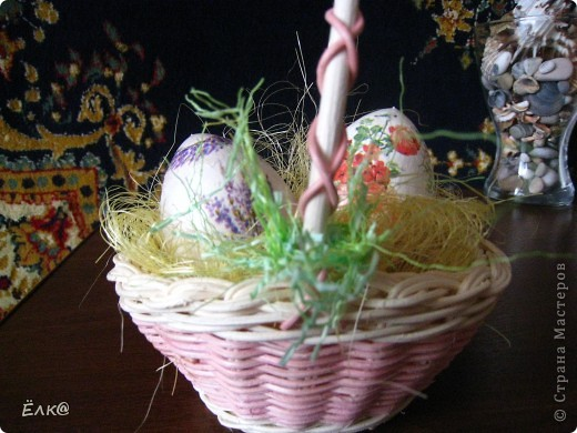 Вот такой набор из деревянных яиц и салфеток у меня получился фото 3