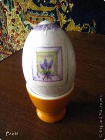 Вот такой набор из деревянных яиц и салфеток у меня получился фото 7