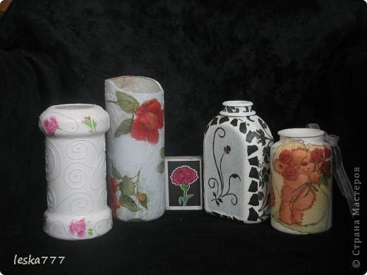 """Вот такие вазочки у меня получились в результате долгих """"мучений"""". фото 2"""