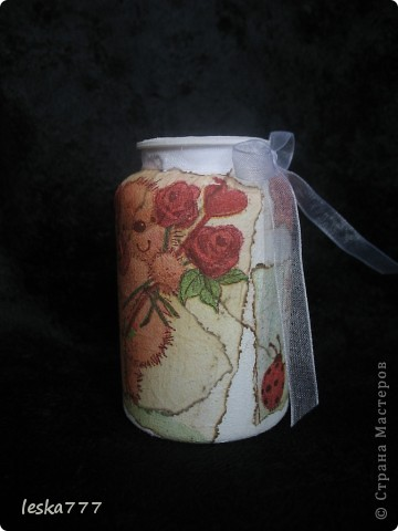 """Вот такие вазочки у меня получились в результате долгих """"мучений"""". фото 8"""