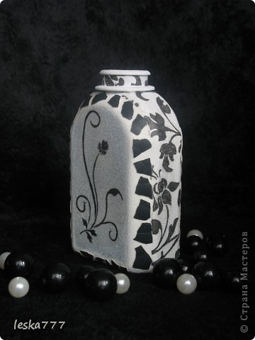 """Вот такие вазочки у меня получились в результате долгих """"мучений"""". фото 6"""
