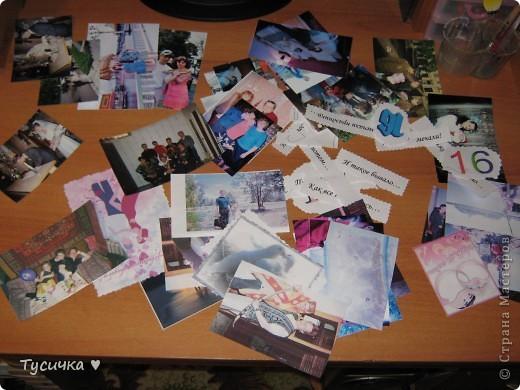 Делаю родителям на годовщину свадьбы альбом. Обложка, ее меня в планах нет, а вот остальные странички... фото 5