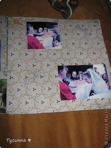 Делаю родителям на годовщину свадьбы альбом. Обложка, ее меня в планах нет, а вот остальные странички... фото 9