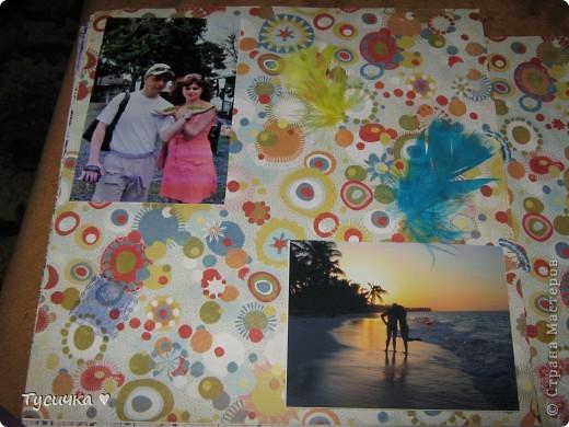 Делаю родителям на годовщину свадьбы альбом. Обложка, ее меня в планах нет, а вот остальные странички... фото 16
