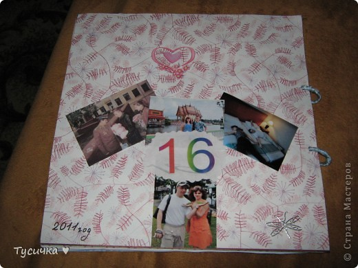 Делаю родителям на годовщину свадьбы альбом. Обложка, ее меня в планах нет, а вот остальные странички... фото 22