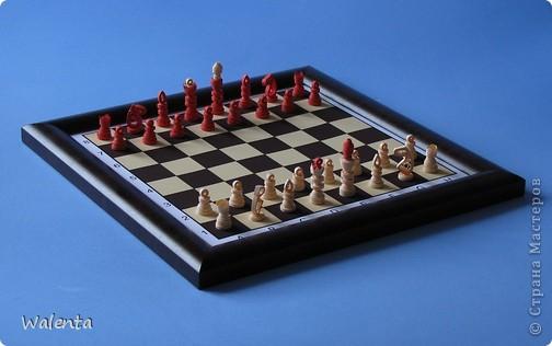 Приглашаю на партию Мои шахматы в технике квиллинг. фото 1