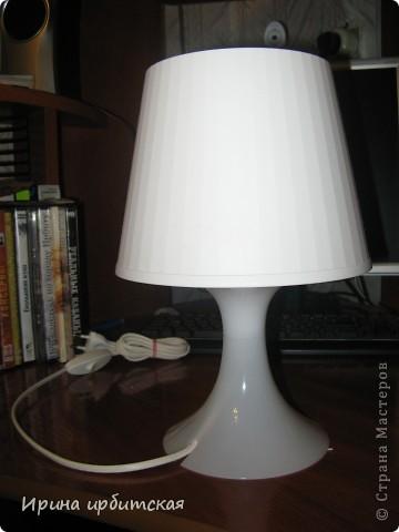 Вот такую настольную лампу я приобрела в магазине Икея! фото 1