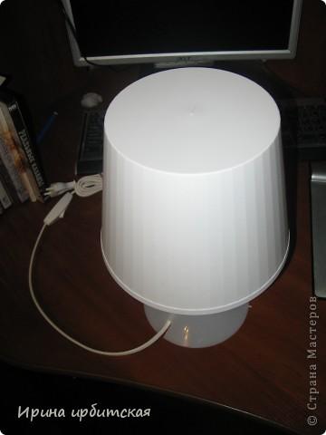 Вот такую настольную лампу я приобрела в магазине Икея! фото 2