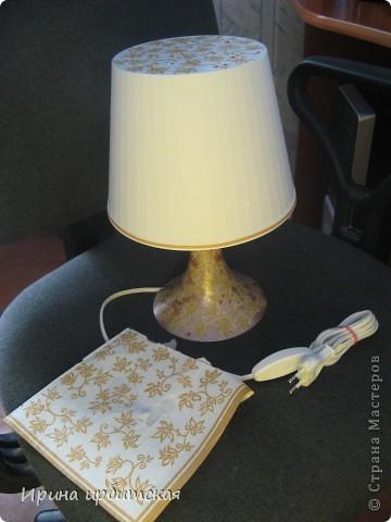 Вот такую настольную лампу я приобрела в магазине Икея! фото 3