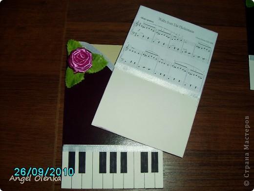 Эти открытки были сделаны для преподавателей музыкальной школы, в которой учится мой младшенький. фото 3