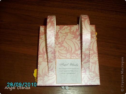 Рюкзачок делала для учительницы младшего сына. фото 6
