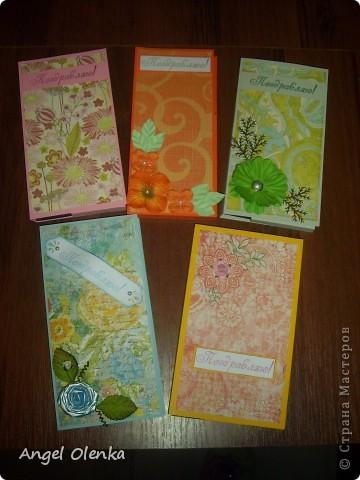 Открытки-шоколадницы к 8 марта. фото 1