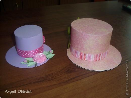 Шляпки-шкатулки для учителей к 8 марта фото 1