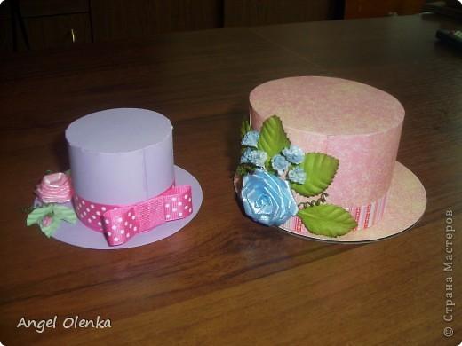 Шляпки-шкатулки для учителей к 8 марта фото 2