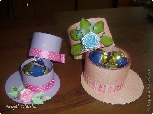 Шляпки-шкатулки для учителей к 8 марта фото 3