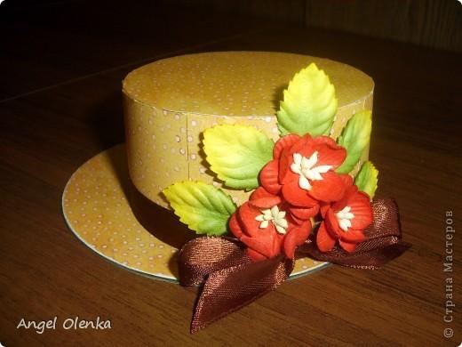 Шляпки-шкатулки для учителей к 8 марта фото 5