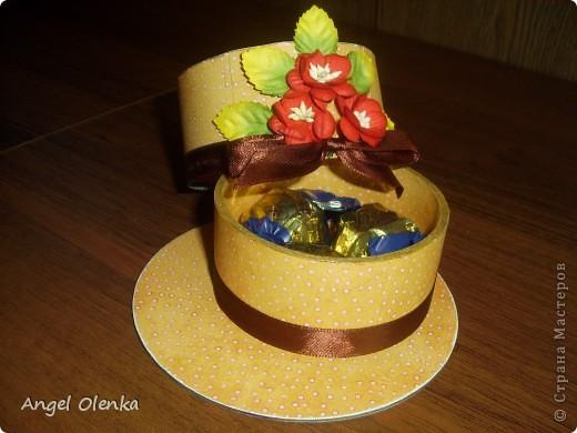 Шляпки-шкатулки для учителей к 8 марта фото 6