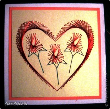 Здравствуйте, дорогие Мастерицы и Мастера! Хочу вам сегодня показать свои открытки, которые были сделаны за довольно продолжительный отрезок времени. А показать вам их всё было недосуг. На этот шаг меня сподвигла сладкая парочка, которую я сегодня сделала. Идею подсмотрела тут http://sandrasscrapsels.blogspot.com/ Сразу скажу,что это мой первый (что-то мне подсказывает,что не последний) опыт в данной технике. Предназначаются эти открыточки в подарок семейной паре фото 10