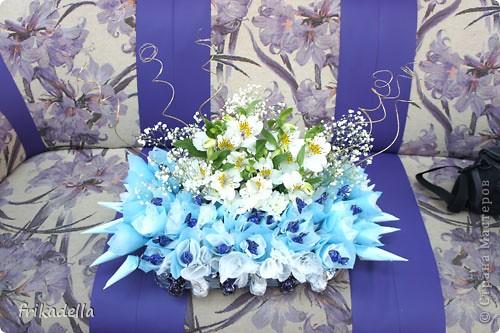 вот такой букетик сделали мы с моей невесткой Заболоцкой Сарданой фото 4