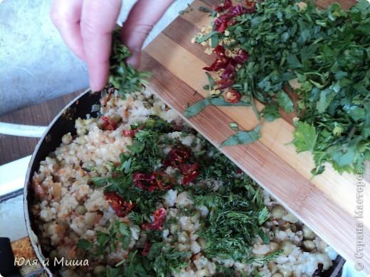 """Рагу из риса """"Тархун"""" хорошо тем, что вкусно даже без тархуна )))) Воздушное, приятно-острое блюдо от которого невозможно оторваться даже тому, кто, как и мы, в быту не очень жалует рис.  фото 5"""