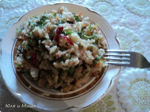 """Рагу из риса """"Тархун"""" хорошо тем, что вкусно даже без тархуна )))) Воздушное, приятно-острое блюдо от которого невозможно оторваться даже тому, кто, как и мы, в быту не очень жалует рис.  фото 1"""