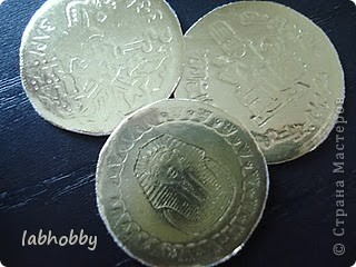 Мастер-класс по скрапбукингу: Монетки
