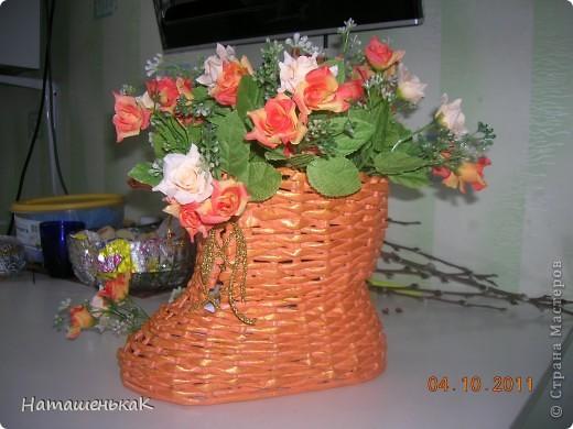 Увидела, влюбилась, загорелась и попробовала сделать. http://stranamasterov.ru/node/170981#comment-1401070 Это моя первая проба в плетении. Теперь точно знаю - не последняя. фото 2