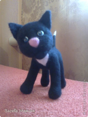 Сваляла я вот такого котика , зовут его Пират. фото 4