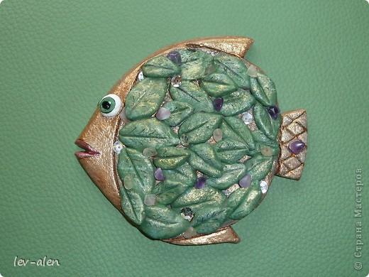 """Идея рыбки пришла когда увидила работу Карла Фаберже """"Апельсиновое дерево"""" фото 8"""