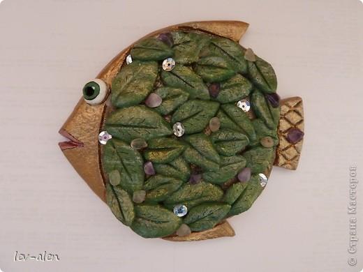 """Идея рыбки пришла когда увидила работу Карла Фаберже """"Апельсиновое дерево"""" фото 1"""