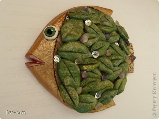 """Идея рыбки пришла когда увидила работу Карла Фаберже """"Апельсиновое дерево"""" фото 2"""