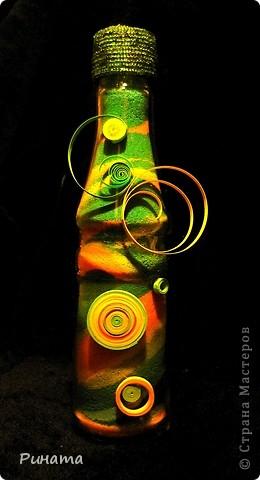 Прямые и волновые линии ( 2 бутылочки с солью) фото 4