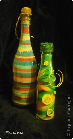 Прямые и волновые линии ( 2 бутылочки с солью) фото 1