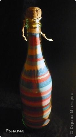 Прямые и волновые линии ( 2 бутылочки с солью) фото 6