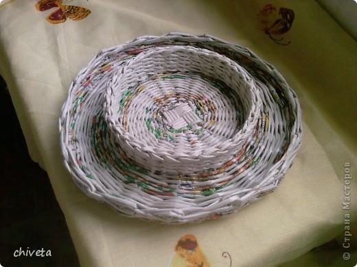 Газетные изделия,покрытые лаком. фото 3
