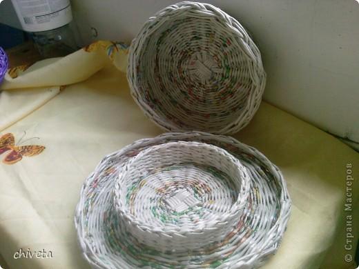 Газетные изделия,покрытые лаком. фото 1