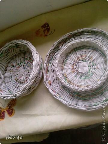 Газетные изделия,покрытые лаком. фото 2